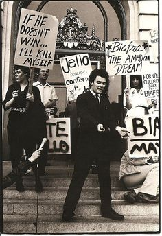 Jello Biafra for Mayor of San Francisco, 1979: 'If he doesn't win, I'll kill myself!'   Dangerous Minds
