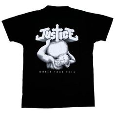 Justice - 2012 World Tour tee