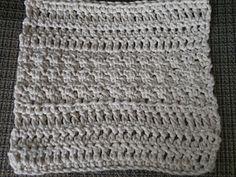 Grecian Tile Dish Cloth - free crochet pattern by Georgia Butka.