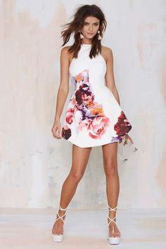 Floral Dress | Nasty Gal