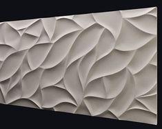 Plastic mold wall panels for plaster (gypsum) or concrete . Form for plaster decor wall panels mold. form for decorative wall panels Concrete Casting, Concrete Forms, Concrete Wall, 3d Wandplatten, Wall Panel Molding, Gypse, 3d Wall Decor, Room Decor, Wall Art