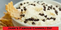 The World's Best Cannoli Dip - Family Recipe - EverybodyLovesItalian.com