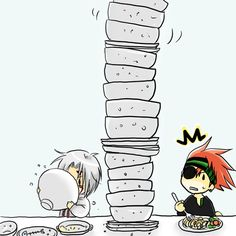 D.Gray-man ~~ Allen-the-Bottomless-Pit-Walker strikes again!