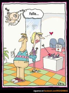 COMETER un fallo = un error = una equivocación. Fallar = errar = equivocarse. Cupido no ha acertado esta vez... o quizás sí. :)
