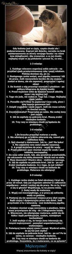 Panowie by zrozumieć KOBIETĘ w CIĄŻY postępujcie wg tych wskazówek. Kids And Parenting, Happy Life, True Stories, Einstein, Humor, Education, Funny, Quotes, Scripts