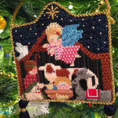 and nowhere is that more evident than at my house.  Here is the evidence: Petei Nativity using stitch guide from Diana Boswort...
