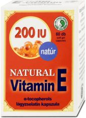 E-vitamin 200mg kapszula