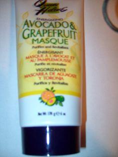 Recensioni cura del sé: Maschera per il viso Avocado & Grapefruit di Queen...
