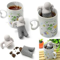 Silicone Infuser Loose Tea Leaf Strainer Herbal Spice Filter Diffuser for Teapot Teacup Mugs >>> Check this awesome product by going to the link at the image.  This link participates in Amazon Service LLC Associates Program, a program designed to let participant earn advertising fees by advertising and linking to Amazon.com.
