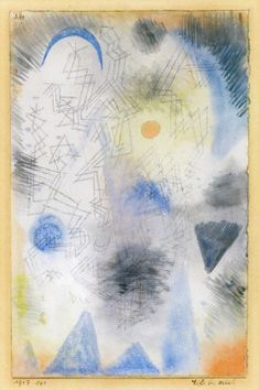 Paul Klee. Targets in the Fog