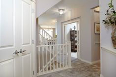 Foyer / entry in the Orion II showhome in King's Heights in Airdrie by Shane Homes Entry Foyer, New Homes, House Design, Furniture, Home Decor, Entrance Hall, Entrance Foyer, Decoration Home, Room Decor