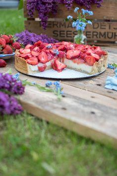 Erdbeertorte mit Vanillecreme: Ein Familienliebling ⋆ Knusperstübchen