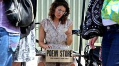 Buy a poem made to order at the Poem Store.  this makes me happy.