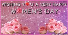 ❤️‍💋‍SendGreetings🎂🎉: Wishing You A Very Happy Women's Day.