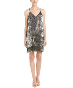 AMANDA UPRICHARD AMANDA UPRICHARD CRICKET SILK SHIFT DRESS'. #amandauprichard #cloth #day