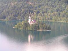 Eslovenia-Castillo de Bled. Vistas.