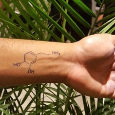"""""""Creation is a drug I can't do without."""" - Cecil B. DeMille  NEW inkbox tattoo design DOPAMINE  #inkbox #inkboxlove"""