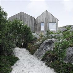 'Vega Cottage' by Kolman Boyle Architects, Vega, Norway