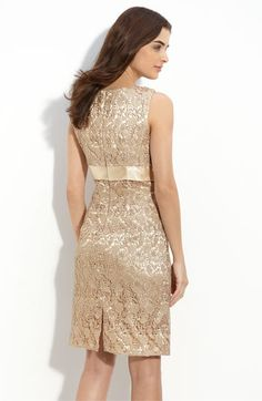 Mother of the Groom Dress?  Gold would really accent out colors perfectly!