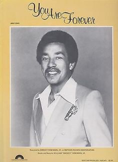 Sheet Music 1981 You Are Forever Smokey Robinson 263