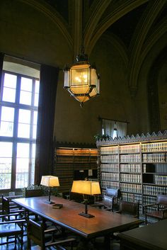 Law Library at the Santa Barbara County Courthouse in California