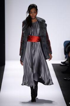 Carmen Marc Valvo at New York Fall 2015