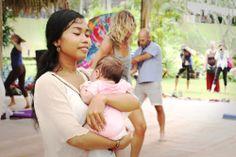 Divine Feminine energy at Bali Spirit Festival