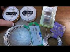Beginning Wire Wrapping : Budget Wires and Types - YouTube