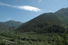 Olivetta San Michele (IM): scorcio di Val Bevera