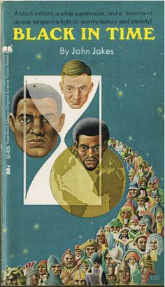 Black in Time by John Jakes #book #cover