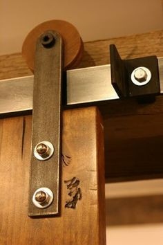 Modern Barn Door Hardware And Barn Doors - modern - entry - salt lake city - Rustica Hardware