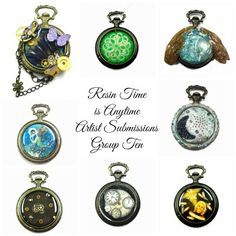 Resin Time DIY http://www.resincrafts.blogspot.ca/2014/02/resin-time-is-anytime-artist.html