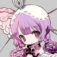 Filuru (JOKERS) Magical Girl Raising Project, Chibi Characters, Art Base, Dark Fantasy Art, Cute Icons, Shoujo, Cute Girls, Character Design, Kawaii