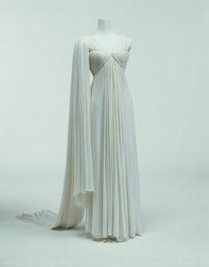Madame Grès, Evening Dress, ca. 1944, The Kyoto Costume Institute, Japan