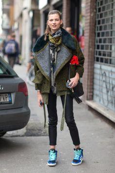 How to dress like a model off-duty. Shop the looks, here: