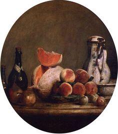 A Still Life Collection: Jean-Baptiste-Siméon Chardin (1699-1779)