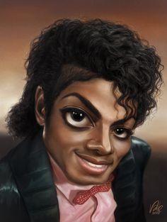 Michael Jackson - The Billie Jean times by FabioValle.deviantart.com