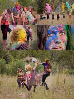 Bataille colorée