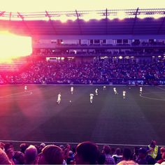 Sporting kc...good times at livestrong park