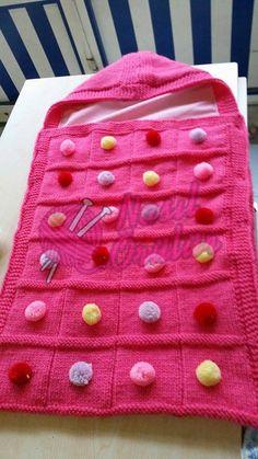 bebek battaniyesi nasıl örülür, bebek battaniyesi örneği, örgü bebek battaniyesi , ponponlu bebek battaniyesi , nasıl örülür (3)