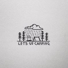 It's gonna be nothing but rain here in Oregon for a while, but who doesn't love the rain? #camping #campvibes #drawing #art #penandink #micron #graphicdesign #design #illustration #illustree #doodle #doodling #typography #typface #portland #oregon #pnw #upperleftusa #homeiswhereyoupitchit #campmore #letsgocamping #illustration #illustree #rain #rei1440project