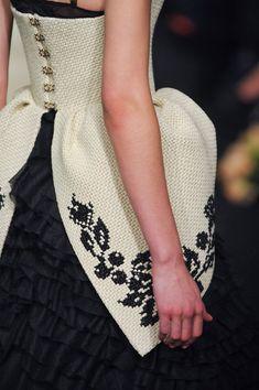 Ulyana Sergeenko at Couture Spring 2013 - Details Runway Photos