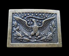 FLYING AMERICAN BALD EAGLE FLOWER WESTERN BELT BUCKLE BOUCLE DE CEINTURE #eagle #eagles #eaglebuckle #eaglebeltbuckle #flyingeagle #baldeagle #americaneagle #beltbuckles #coolbuckles #buckle