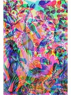 'La Selva' artwork as part of the 'La Selva' series from Carnovsky for Jaguarshoes Collective featuring an unframed Giclée print on 310g paper size 110cm x 75cm. Edition of 20 - numbered and is signed.