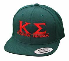 f03be530e20 Kappa Sigma Flatbill Snapback Hats Original SALE  24.95. - Greek Clothing  and Merchandise - Greek