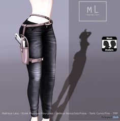 Bad Girl Jeans Group Gift by monaLISA