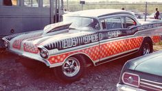 History - Drag cars in motion. Custom Hot Wheels, Old Race Cars, Thing 1, Car Colors, Vintage Race Car, Drag Cars, Drag Racing, F1 Racing, Car Humor