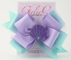 Hey, I found this really awesome Etsy listing at http://www.etsy.com/listing/105387145/ariel-the-little-mermaid-hair-bow-hair
