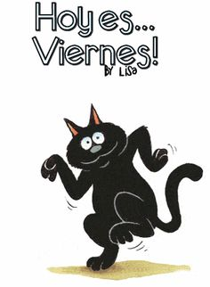 Kitty cat clip art, animations of kittens,cats other and feline gif images Animiertes Gif, Animated Gif, Happy Dance, Funny Videos, Friday Dance, Kitten Photos, Dancing Cat, Animation, Cute Gif