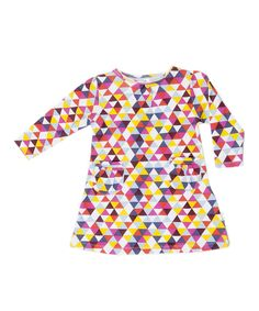 Kaleidoscope Pocket Organic Dress - Infant & Toddler | Daily deals for moms, babies and kids